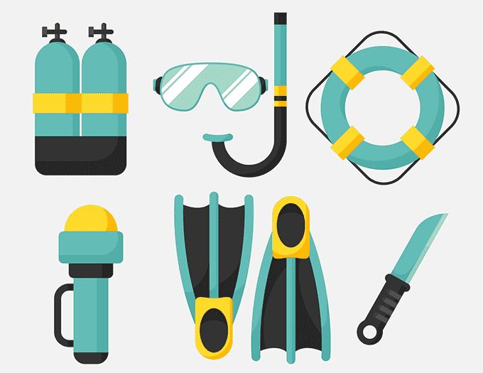 エアアジアではダイビング用具はスポーツ用品として預ける
