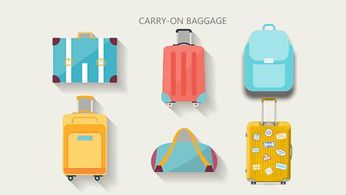 LCCの機内持ち込み手荷物のサイズ