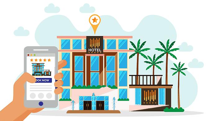 Online Travel Agencyを使ってホテル予約